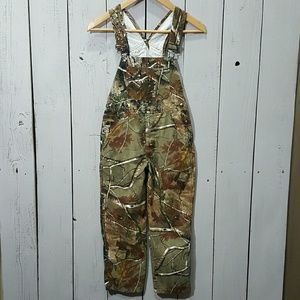 Camouflage kids overalls